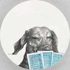 7f19815ce6395532a9c751e76b03d5f2 Dog Illustrations by Zhao Na