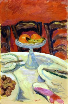 Pierre Bonnard. Orange. #art #artists #bonnard