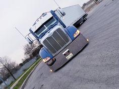 LOW LIFE... Big Rig Trucks, Semi Trucks, Cool Trucks, Peterbilt 386, Peterbilt Trucks, Low Life, Brainstorm, Trailers, Old School