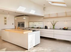 bulthaup by kitchen Architecture 'An eco family home in a village location' case study. #kitchenarchitecture #bulthaup #b3 #kitchen