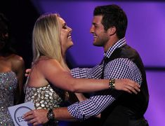 Lindsey Vonn and Tim Tebow