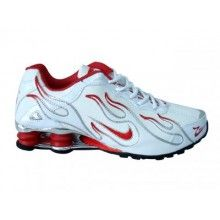b0f9119a8a27 Nike Shox R4 Torch mens shoes hot red white black Nike Shox Shoes