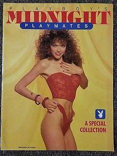 Vintage Playboy Magazine Supplement Midnight Playmates