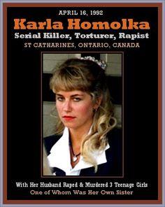 Karla Homolka, Canadian Serial Killer & Pervert - 1992