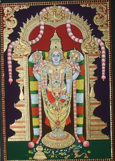 More Tanjore Paintings - Golden Streak Adorn Your Life with ART