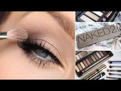 URBAN DECAY NAKED 2 EYESHADOW PALETTE TUTORIAL - YouTube