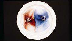 Bilder mit Tinte: Zuckerwürfel-Sonne 2