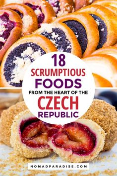 18 Amazing Czech Foods You Should Try Looking for things to do in Prague and things to do in the Czech Republic? Eat your way through the delicious Czech food! Use our list of 18 must try foods for your trip to the Czech Republic. Slovak Recipes, Czech Recipes, Czech Desserts, Prague Food, Beste Burger, Good Food, Yummy Food, Sweet Pastries, Polish Recipes