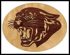 Scrollsaw Workshop: Panther Scroll Saw Pattern.