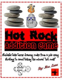 Hot Rock Addition Game! (For Elementary)