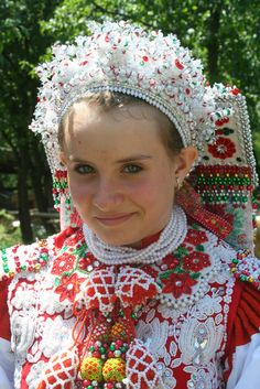 Hungarian girl - Kalotaszeg