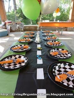 """black table cloth cut into 3 strips and masking tape is alot cheaper then $22 for a gray roll of """"road tape"""""""