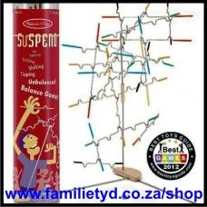 Suspend ~ the Teetering, Wobbling, Shifting, Tipping, Unbalanced Balance Game! Game of the Year (2012) in USA! Try this hanging balance game and you'll be hooked!