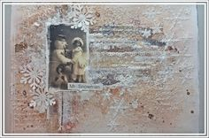 Mr Snowman  - Art Journal - Start to Finish