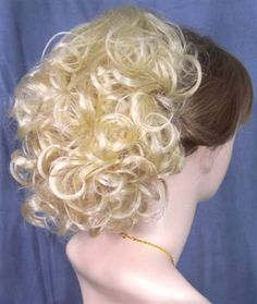 PHOEBE Clip On Hairpiece Wig #613 BLEACH BLONDE by MONA LISA by WIG MAGIC USA. $22.99. In color #613 vanilla bleach blonde as shown. Luxurious!