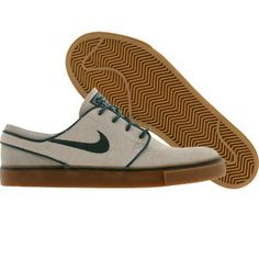 Nike Zoom Stefan Janoski SB (birch / noble green / pl grey / gum light brown) - Shoes - 333824-230 | PickYourShoes.com ($50-100) - Svpply