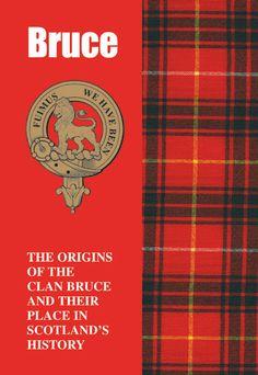 bruce clan kilt -and badge