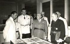 1954 Franco visita el Instituto Nacional de Investigaciones Agronómicas