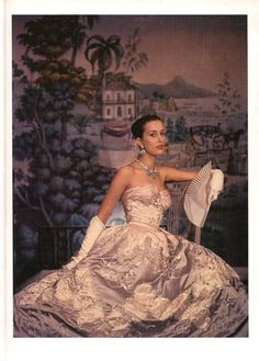 Balmain Evening Gown 1955