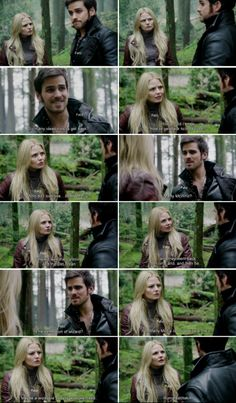 "Emma: ""Who do i look like... Marty Mcfly"", Hook: ""Marty Mc who?"", Emma and Hook #CaptainSwan, ""Snow Drift"" 3*21"