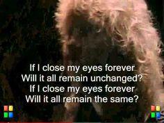 Close My Eyes Forever - Lita Ford with Ozzy Osbourne (Lyrics On Screen)