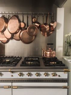Lacanche range at The Cook's Atelier | photo @lacanche_us http://amzn.to/2pfvyHP http://amzn.to/2tmP4iT