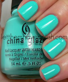 China Glaze Aquadelic from the Electropop collection.