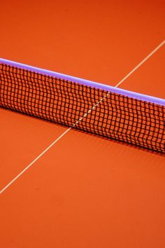 - An orange tennis court (or maybe some other kind of court?) - love the contrast between the orange an the purple. Nicely composed image as well with the net and the white line forming a sort of lopsided cross. Orange Aesthetic, Aesthetic Colors, Rainbow Aesthetic, Urban Aesthetic, Et Wallpaper, Tennis Wallpaper, Rainbow Wallpaper, Vive Le Sport, Le Vent Se Leve