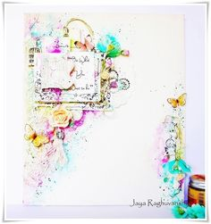 My Craft World: Mixed Media canvas for Prima BAP,PPP