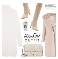 """It's December!"" by nadialesa ❤ liked on Polyvore featuring Diane Von Furstenberg, Equipment, Gianvito Rossi, Chloé, Winter, coats, OverTheKneeBoots and winteroutfit"