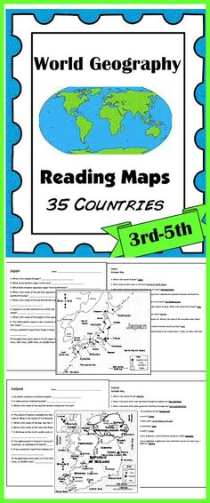 Ap Human Geography, Geography For Kids, World Geography, 6th Grade Social Studies, Social Studies Activities, Map Activities, Study History, History Education, Early Education