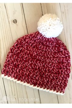 Child Size Easy 30-Minute Beanie Crochet Pattern Beginner Crochet fd0ac0c2f21