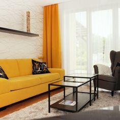 Obývací pokoje - oranžová - fotogalerie a inspirace   Favi.cz