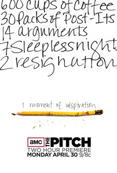 Print Ad for The Pitch