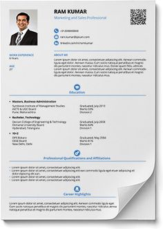 Smart and Balanced resume template Cv Format For Job, Simple Resume Format, Resume Format In Word, Best Resume Format, Resume Pdf, Best Resume Template, Resume Design Template, Cv Template, Resume Format Free Download
