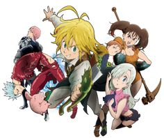 The Seven Deadly Sins is one of many anime I just randomly stumbled across on Netflix, and was hooked by the story, and characters. When I finished the anime, I immediately started reading the mang…