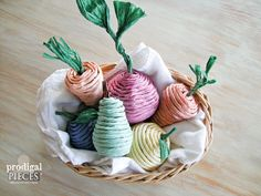 Assorted Basket of DIY Natural Cat Toys by Prodigal Pieces   www.prodigalpieces.com