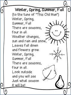 Seasons song: