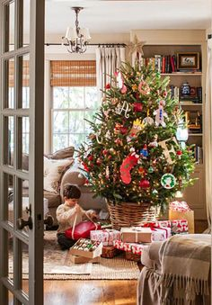Tessa Foley's home in Midwest Living. Christmas House - Holiday & Crew