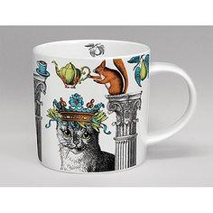 Cat Menagerie Mug White © Copyright Image