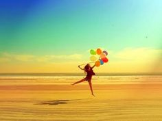 Balloons in pictures = so bright & fun!
