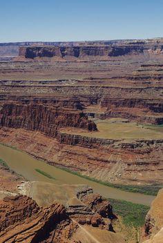 Le Canyon du Colorado à Dead Hors Point State Park #Utah #EtatsUnis