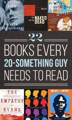 22 Books Every Twentysomething Guy Needs To Read