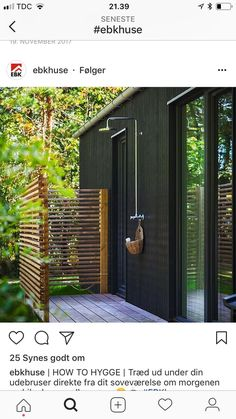 Outdoor change room - All For Garden Outdoor Baths, Outdoor Bathrooms, Outdoor Rooms, Indoor Outdoor, Outdoor Living, Outdoor Decor, Outdoor Sheds, Outdoor Gardens, Piscinas Gre