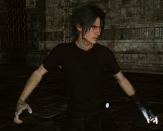 No beard glitch & Older party in Lucis glitch by Emerentis on Tumblr