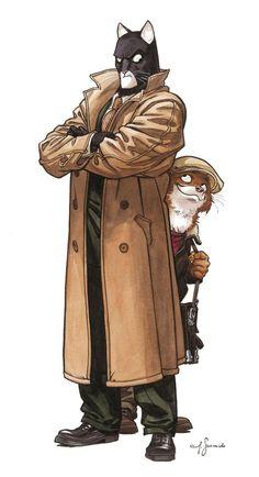 Blacksad - Juanjo Guarnido & Juan Díaz Canales (Annotation: absolutely a cool comic book!)