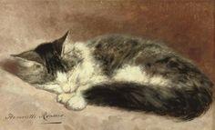 Henriette Ronner-Knip (Niederlande, 1821 - 1909)