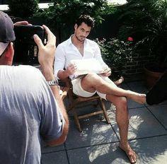 David Gandy should always be barefoot!