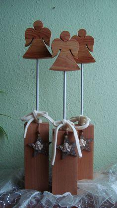 Holzengel zu Weihnachten oder auch als Schutzengel