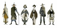 Character Concept Designs by Quynh Chau, via Behance